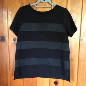 Madewell black thick top